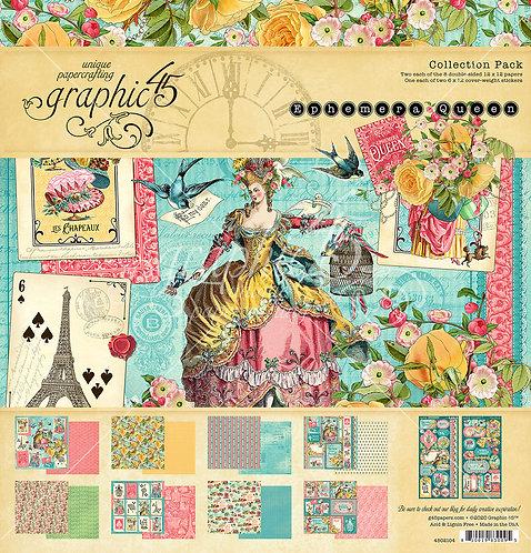 Ephemera Queen 12x12 Collection, Graphic 45