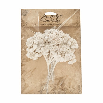 Flower Bouquet, Tim Holtz Idea-ology