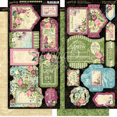 Bloom Tags and Pockets, Graphic 45