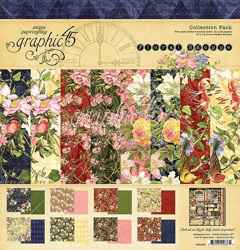 Floral Shoppe, 12x12 Paper Pad, Graphic 45