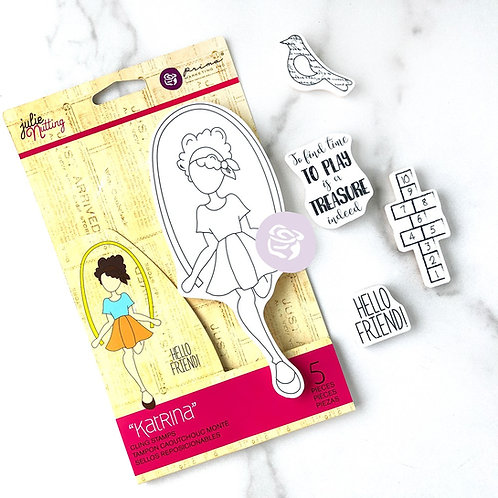 Katrina Stamp Set, Julie Nutting