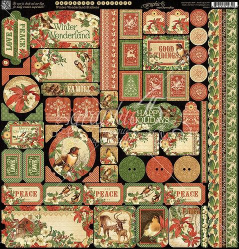 Winter Wonderland Stickers, Graphic 45