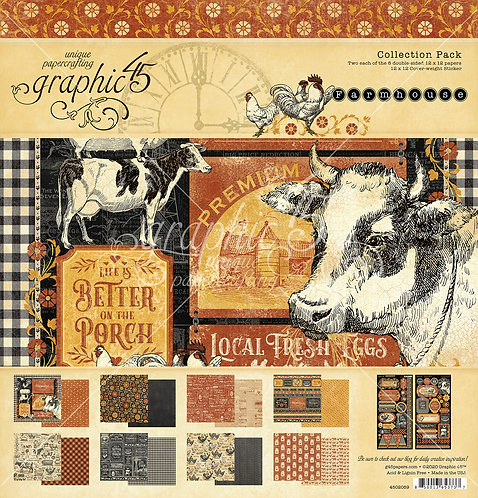 Farmhouse Collection Pack, Graphic 45