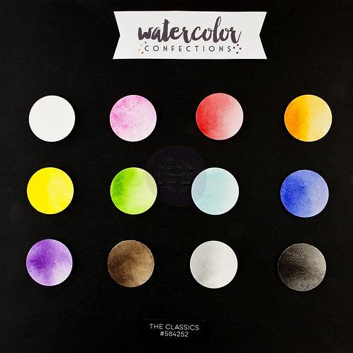 Watercolor Confections, The Classics