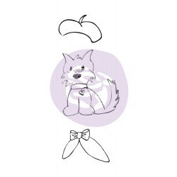 Dog Treats, Julie Nutting Rubber Stamp
