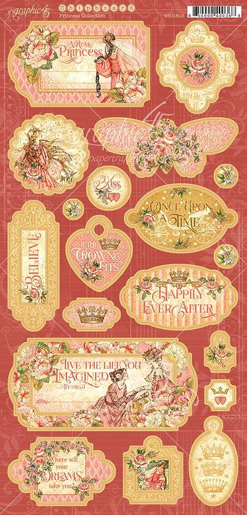 Princess Chipboard, Graphic 45