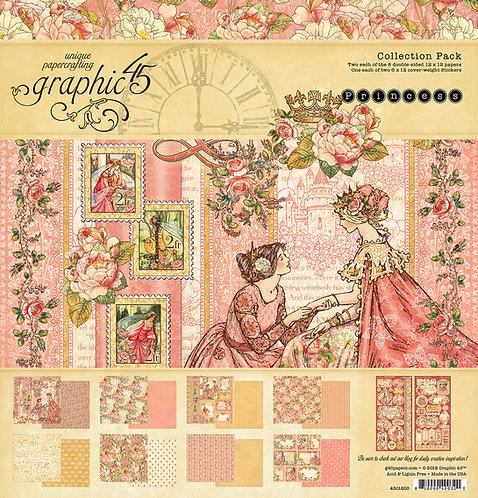 Princess 12x12 Collection Pad, Graphic 45