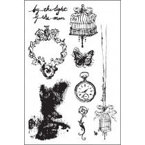 Cling Stamp, Epiphany by Prima