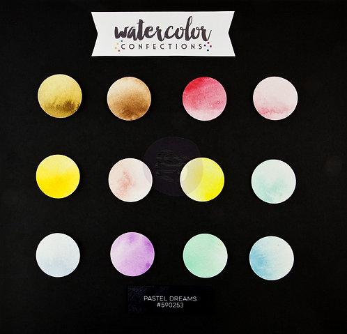 Watercolor Confections, Pastel Dreams