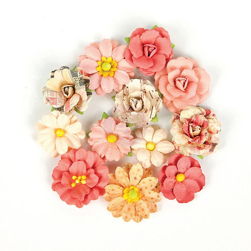 Prima Flowers, U Are My World, Love Clippings Collection
