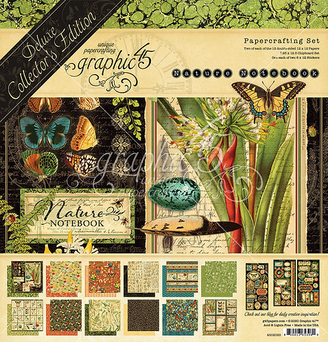 Nature Notebook Deluxe Collector's Edition, 12x12