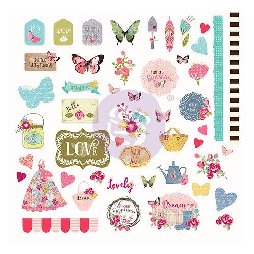 Butterfly Bliss Ephemera, Julie Nutting