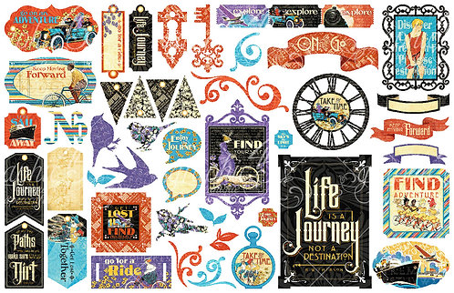 Life's a Journey Die Cuts, Graphic 45