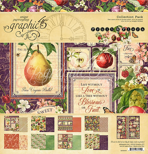 Fruit & Flora Collection Pack, Graphic 45