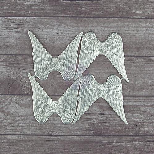 Wings, Dresden Silver Foil Paper