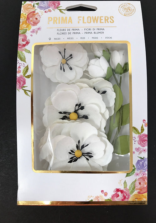 Prima Blackthorn Flowers, 9 pcs