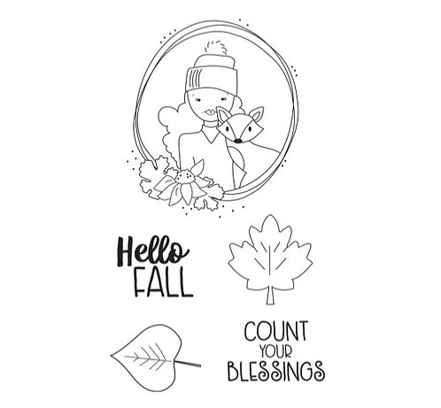 Hello Fall Stamp Set, Julie Nutting