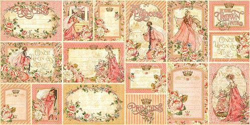 Princess Ephemera and Journaling Cards, Graphic 45