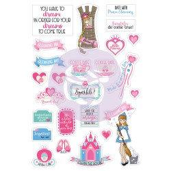 Fairytales Planner Stickers, Julie Nutting
