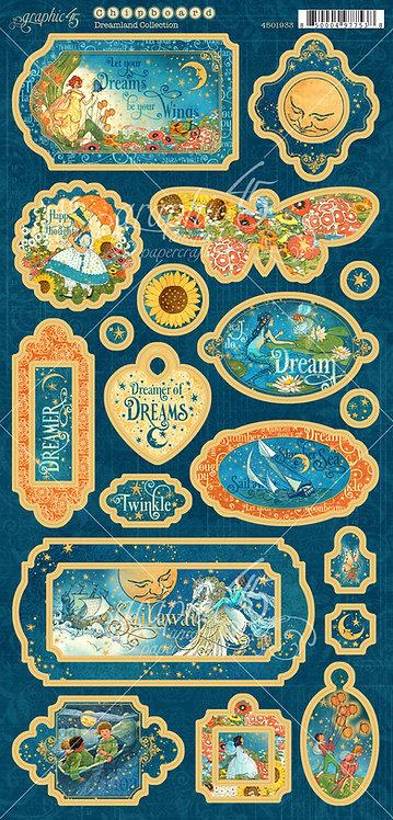 Dreamland Chipboard, Graphic 45