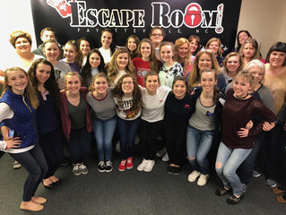 Players lining up for scares at Escape Room Fayetteville