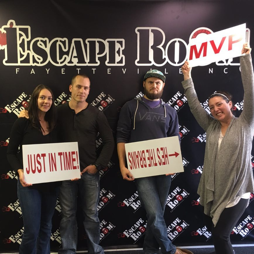 Luke Chilton Escape Room Fayetteville