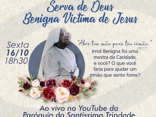 INSP Flamengo fará missa em memória a Irmã Benigna e convida para campanha de doação