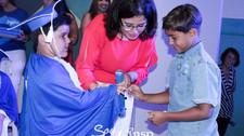 Estudantes do 1º ano do INSP Júnior celebraram o início de um novo ciclo
