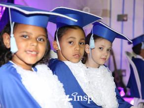 Estudantes participam da Cerimônia de Conclusão da Alfabetização