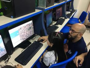 Estudantes utilizam Google Maps para geolocalizar pontos turísticos cariocas
