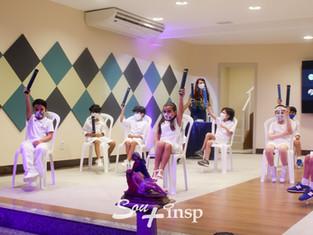 Em solenidade híbrida, estudantes do 1º ano do INSP Júnior celebraram início de nova fase