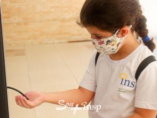 Emoção marca o retorno às atividades presenciais no INSP Júnior