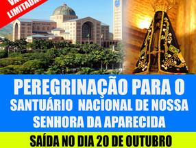 Peregrinação para o Santuário Nacional de Nossa Senhora da Aparecida