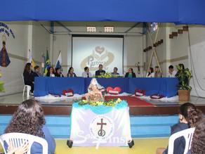 Bispo Auxiliar Dom Juarez Delorto Secco em visita ao INSP