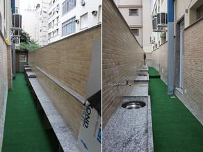 """""""Fofoca saudável"""" Nosso espaço de Horta e Jardinagem está em fase terminal a todo vapor!"""