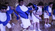 INSP Max, estamos prontos! Estudantes do 5º ano do INSP Júnior celebraram o início em um novo segmen