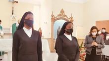 CIANSP celebra Primeira Profissão Religiosa de duas novas irmãs