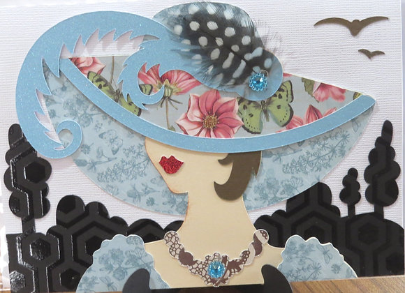 Hat LadiesGreeting Caard