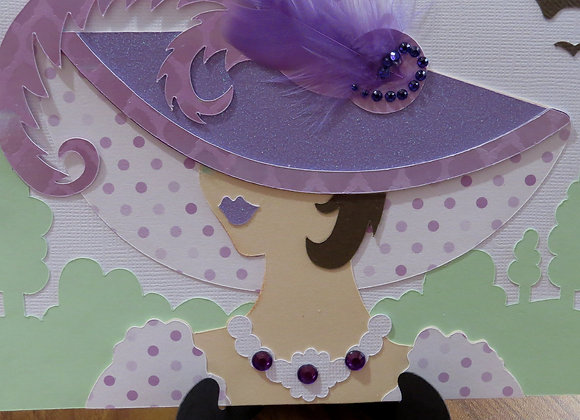 Hat Ladies Greeting Card
