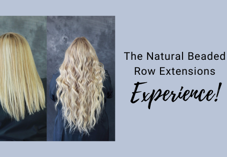 Experience Natural Beaded Row Extensions!