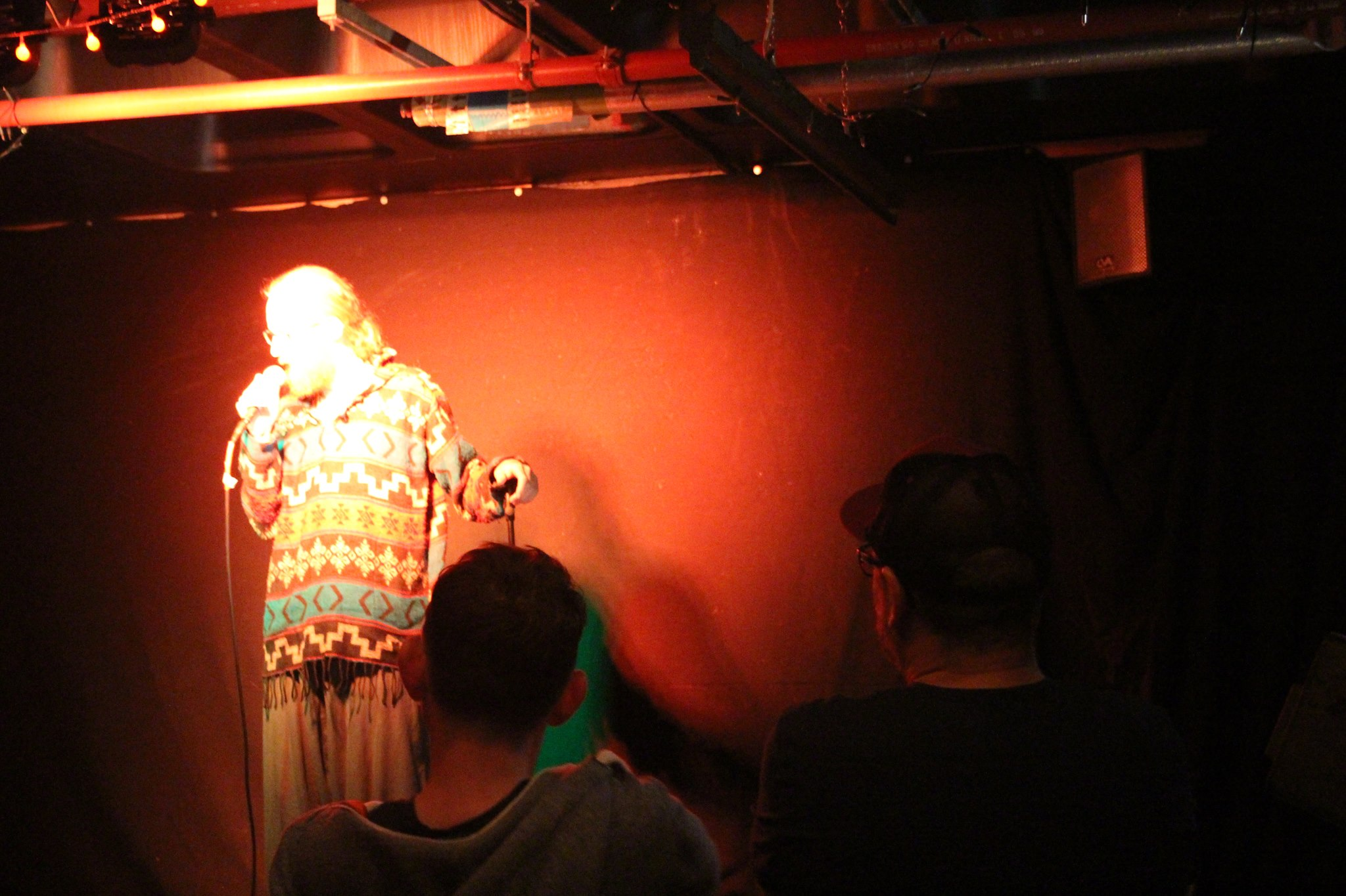 Coming 2nd at Hereford Comedy Fest