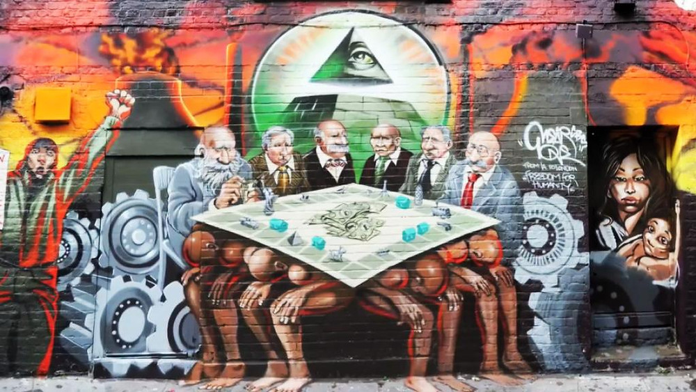 The offending mural.