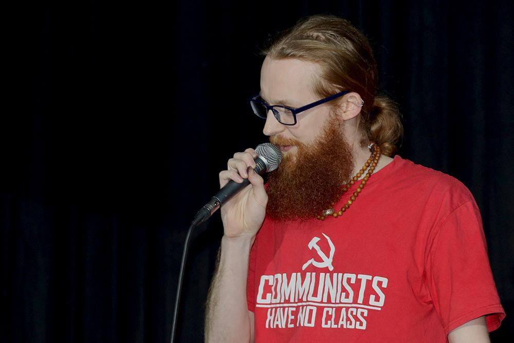Beard looking impressive