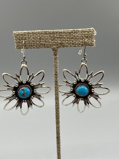 Harold Stevens Flower earrings