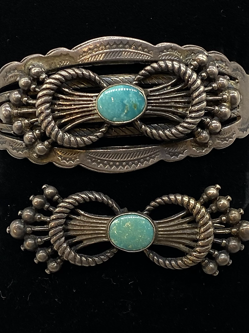 Fred Harvey Bracelet and Pin