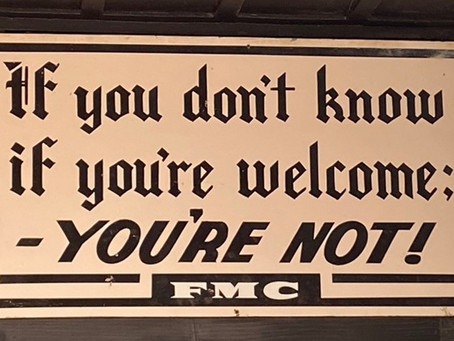 Being Welcome