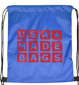 Drawstring Backpack in Royal Blue_edited