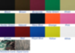 600D Poly Color Swatch USA MADE BAGS