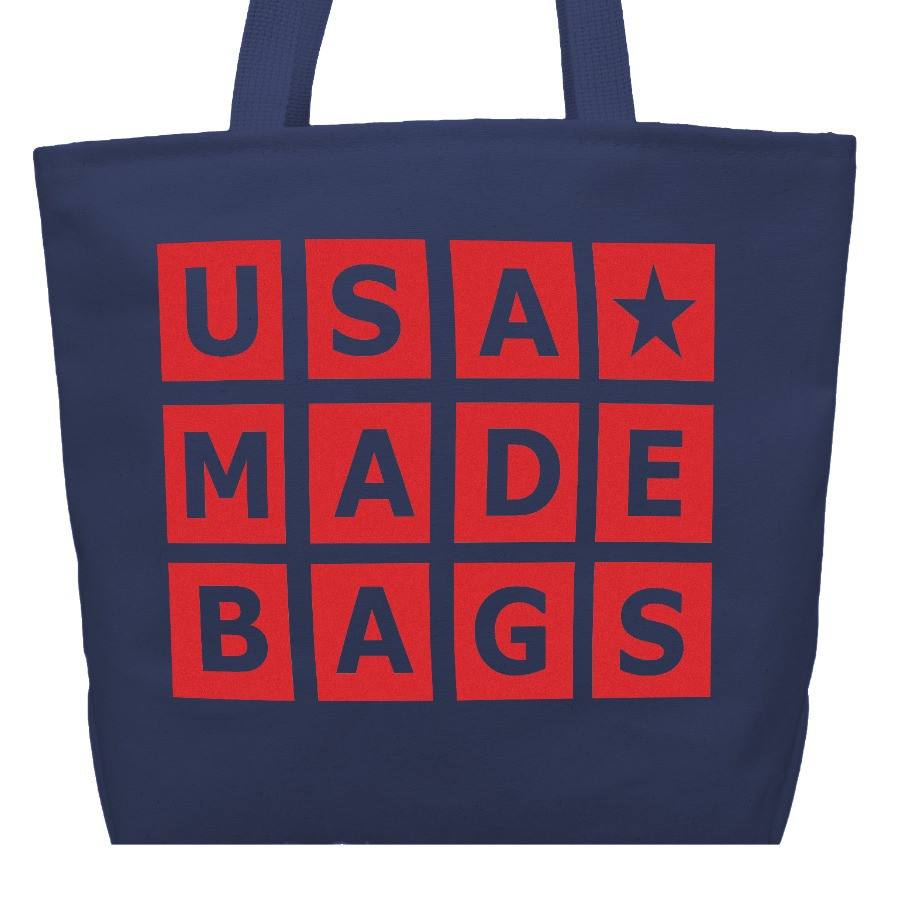 DELUXE TOTE BAG | USA MADE BAGS