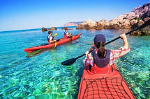 Wild loreto Kayak-Snorkeling Villa del palmar at the Islands of Loreto